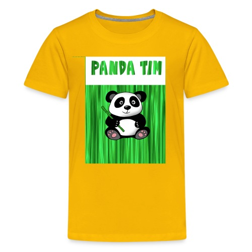 Panda Tim - Kids' Premium T-Shirt