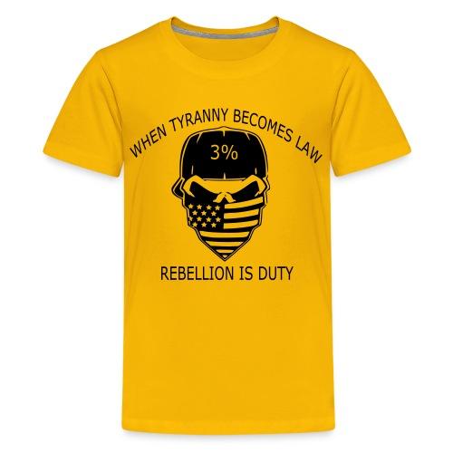 rebellion time - Kids' Premium T-Shirt