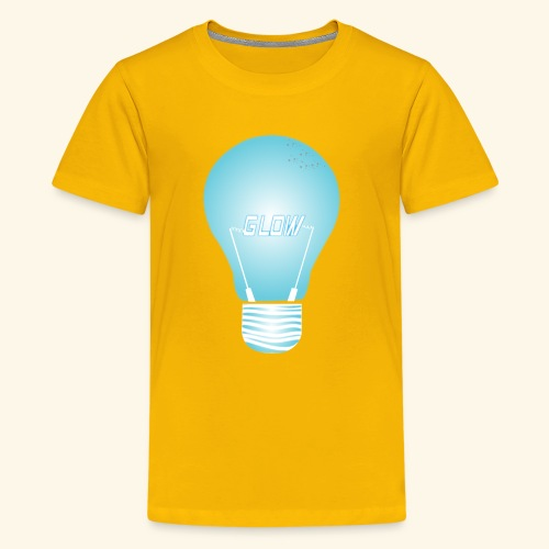 CREATIVE DESIGN || GLOW - Kids' Premium T-Shirt