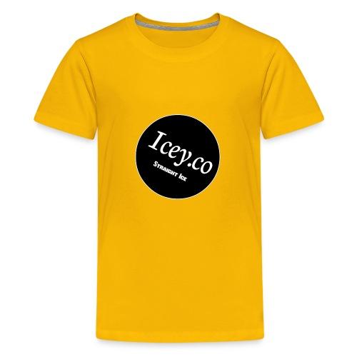 Icey.co straight ice range - Kids' Premium T-Shirt