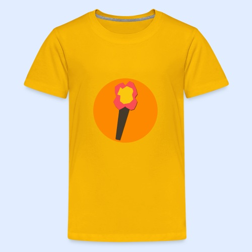 NeoMc Redstone Torch Design - Kids' Premium T-Shirt