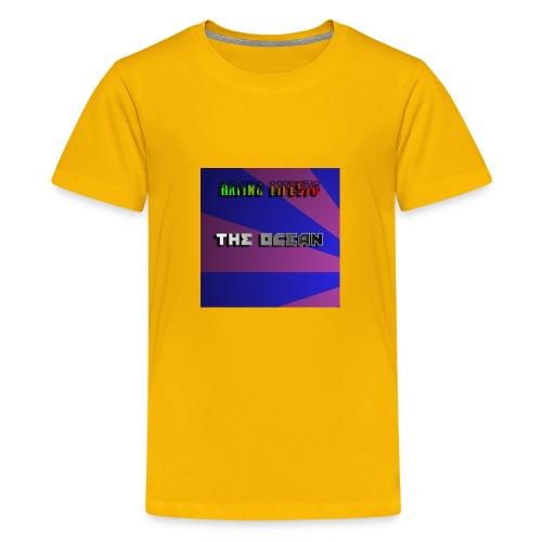 The Ocean Cover - Kids' Premium T-Shirt