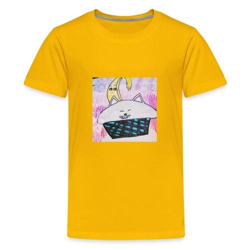 Bananacat adventures - Kids' Premium T-Shirt