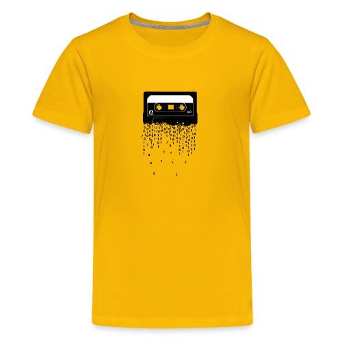 Cassette tape digitalization retru vintage tshirt - Kids' Premium T-Shirt