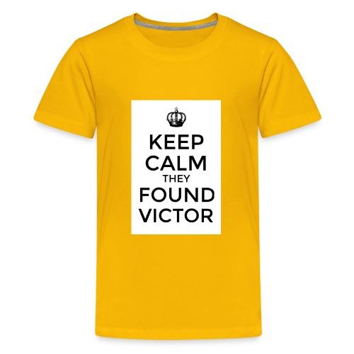 Found Victor - T-Shirt - Kids' Premium T-Shirt