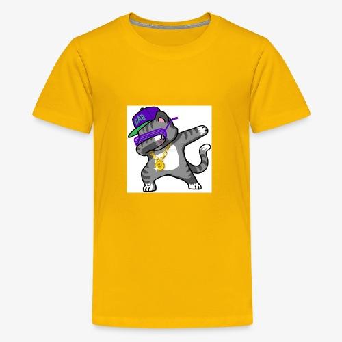 dabbing cat - Kids' Premium T-Shirt