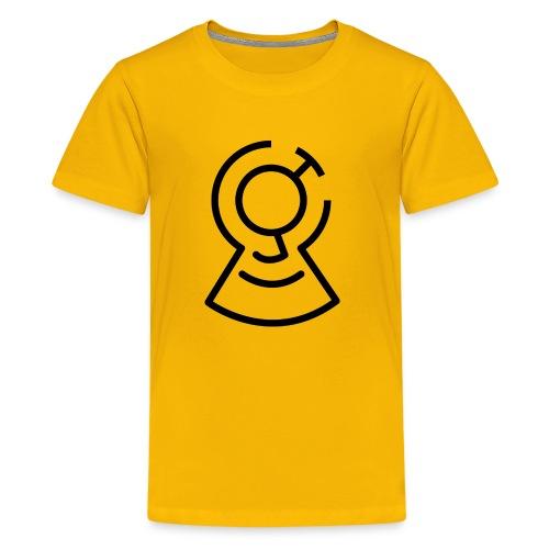 Brainimations Logo Black - Kids' Premium T-Shirt