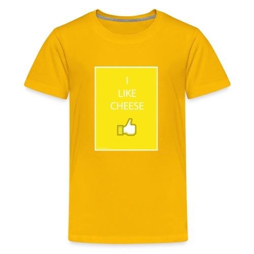 i like cheese - Kids' Premium T-Shirt