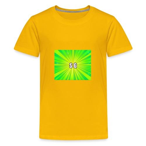 Second Gaming logo theme - Kids' Premium T-Shirt