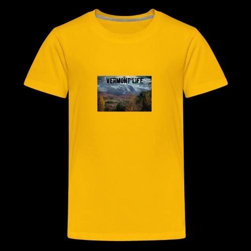 Vermont Life - Kids' Premium T-Shirt