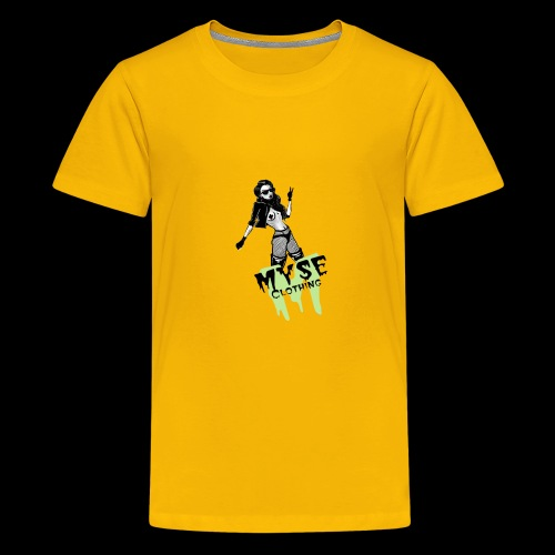 MYSE Clothing - badass babe - Kids' Premium T-Shirt