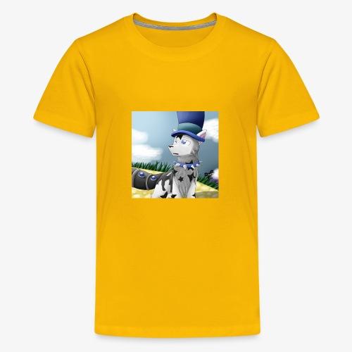 Zero Wolfie_Game - Kids' Premium T-Shirt