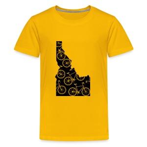 Idaho Bicycle - Kids' Premium T-Shirt