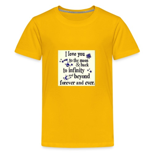 Love you infinity - Kids' Premium T-Shirt