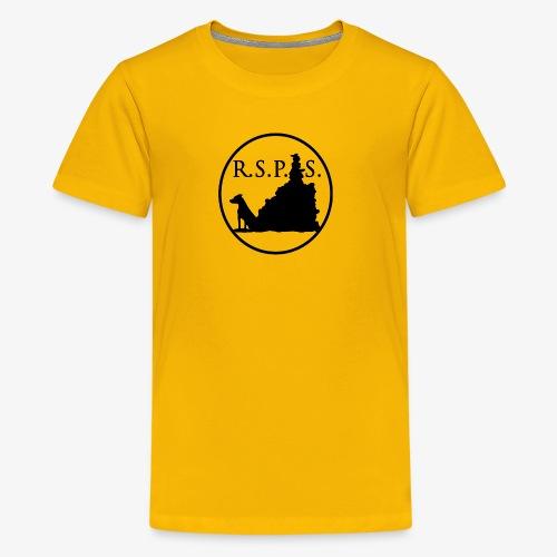 RSPS logo Circle black - Kids' Premium T-Shirt