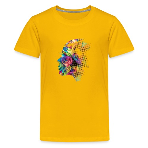 Face of Roses - Kids' Premium T-Shirt
