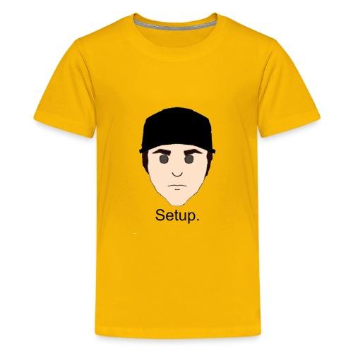 Setup Sam Squared Merch - Kids' Premium T-Shirt
