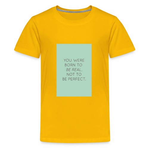 f8a81d2c45e6558cb1a0e2107b79b64f true beauty quot - Kids' Premium T-Shirt