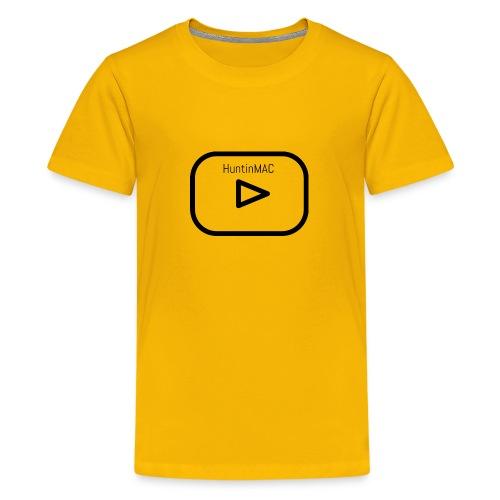 HuntinMAC logo - Kids' Premium T-Shirt