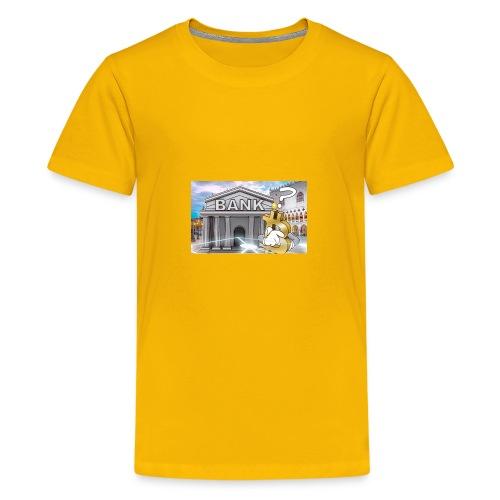 Who Needs The Bank - Kids' Premium T-Shirt