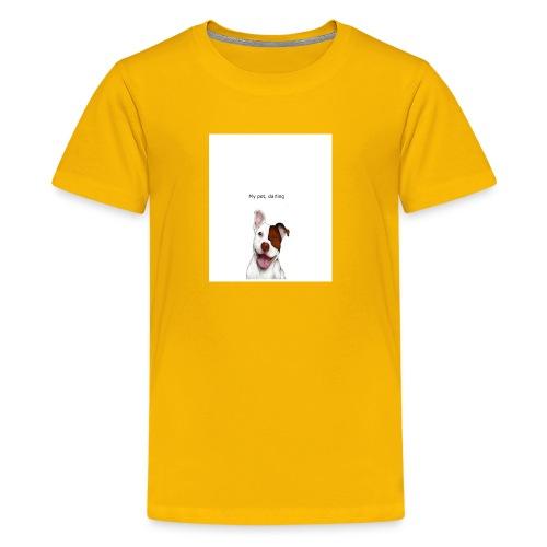 my big dog - Kids' Premium T-Shirt