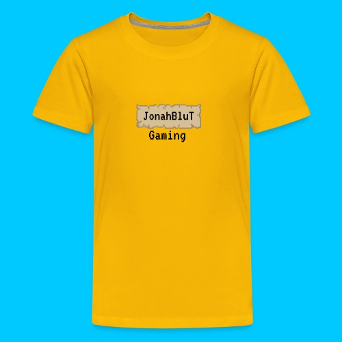 JonahBluT Gaming - Kids' Premium T-Shirt