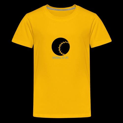 Base Ball Ia Life Logo - Kids' Premium T-Shirt