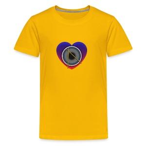 Heart Of Drums Logo - Kids' Premium T-Shirt