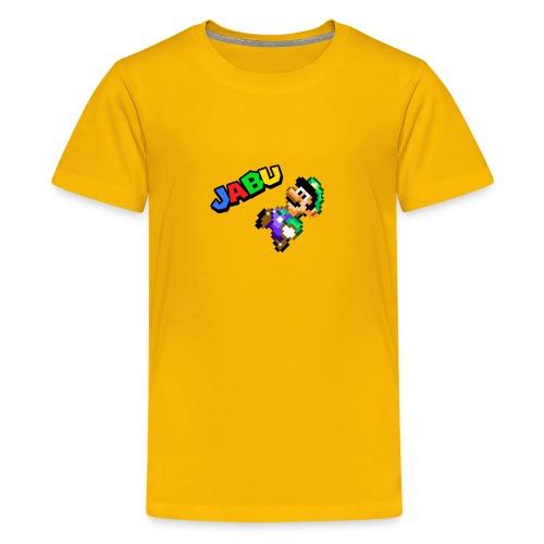 TheJabuBros Luigi Sprite Shirt - Kids' Premium T-Shirt