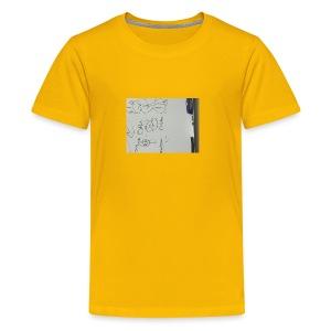 Okeh. Chicken drawing phone case - Kids' Premium T-Shirt