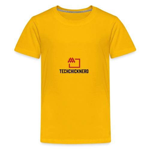 TechChick-Nerd logo #1 - Kids' Premium T-Shirt