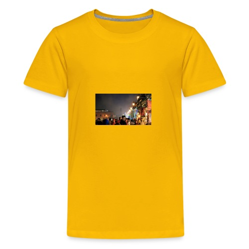 Marrakech at Night - Kids' Premium T-Shirt