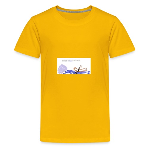 strenght in the Lord - Kids' Premium T-Shirt