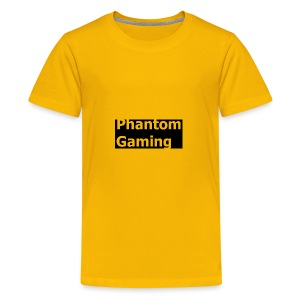 Phantom Shirt No.4 | New Logo Design - Kids' Premium T-Shirt