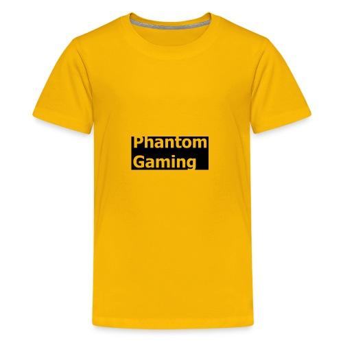 Phantom Shirt No.4   New Logo Design - Kids' Premium T-Shirt