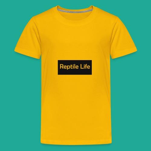 Reptile Life - Kids' Premium T-Shirt