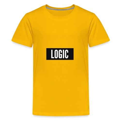 Logic Bold Logo - Kids' Premium T-Shirt