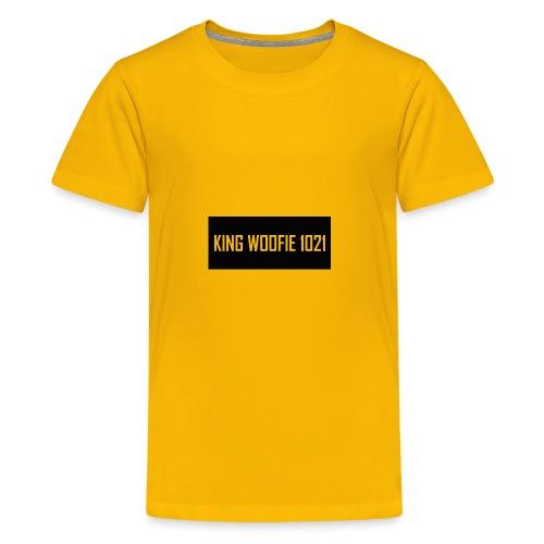 Woofie Logo - Kids' Premium T-Shirt