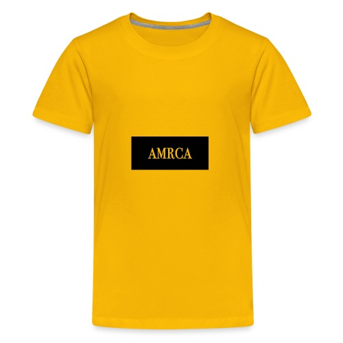 AMRCA Box Logo - Kids' Premium T-Shirt