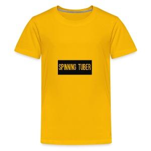 Spinning Tuber's Design - Kids' Premium T-Shirt