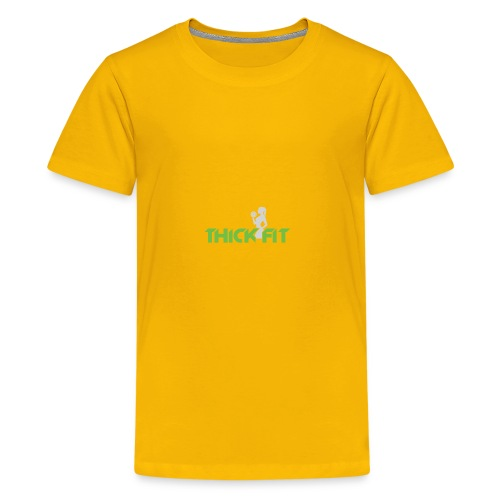 thick_fit_green_without_tag_line - Kids' Premium T-Shirt