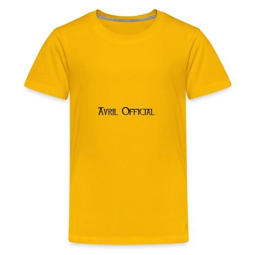 Avril 2nd Merch - Kids' Premium T-Shirt