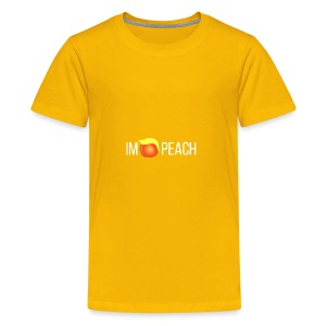 IMPEACH / WHITE - Kids' Premium T-Shirt
