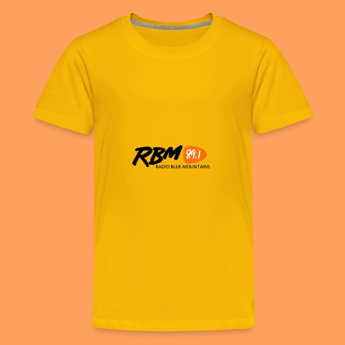 RBM Logo - Orange - Kids' Premium T-Shirt