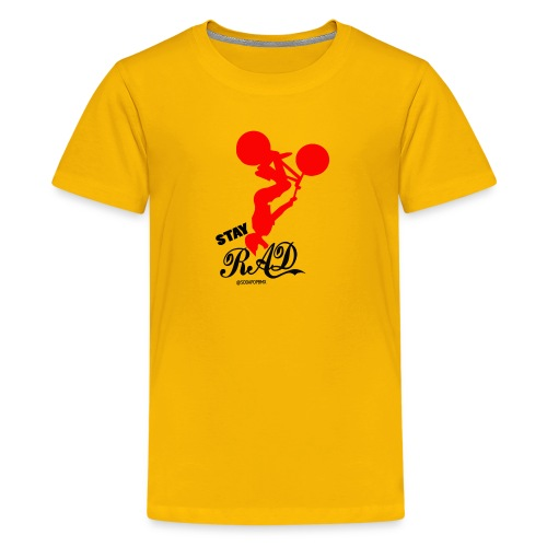 Stay Rad Black - Kids' Premium T-Shirt