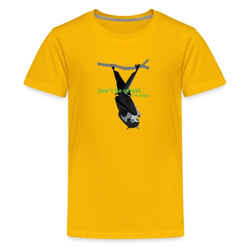 Don t be afraid I'm vegan - Kids' Premium T-Shirt
