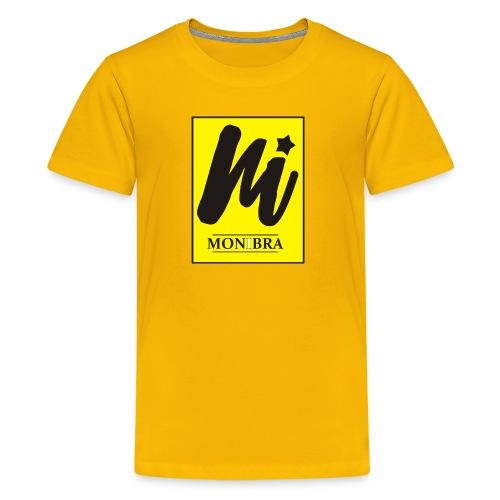 monibra logo - Kids' Premium T-Shirt