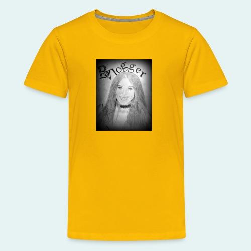 Beauty Vlogger Image Tshirt - Kids' Premium T-Shirt
