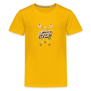 Brood Stop: Pew Pew Pew - Kids' Premium T-Shirt