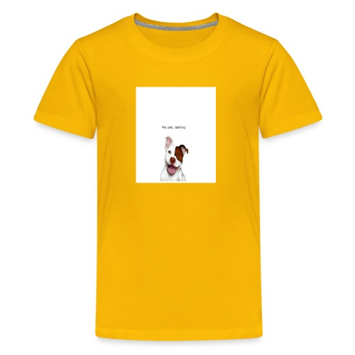 my big dog - Kids' Premium T-Shirt
